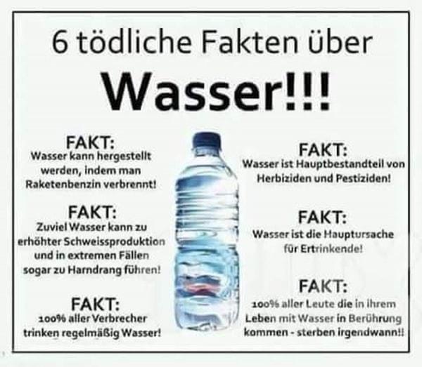 6 tödliche Fakten über Wasser!!! | Lustiges | Was is hier eigentlich los? | wihel.de