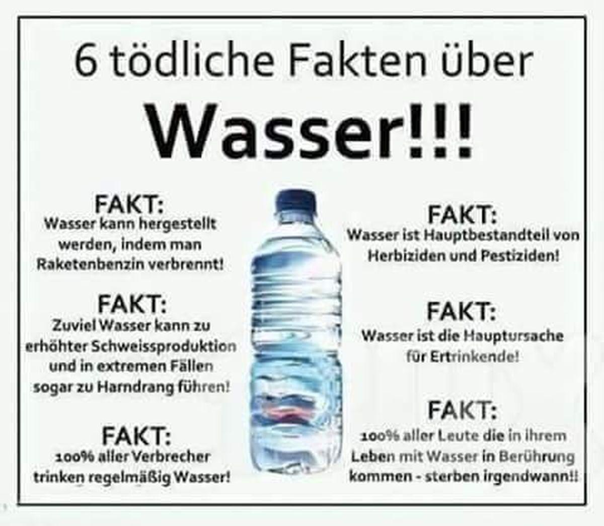 6 tödliche Fakten über Wasser!!! | Lustiges | Was is hier eigentlich los?