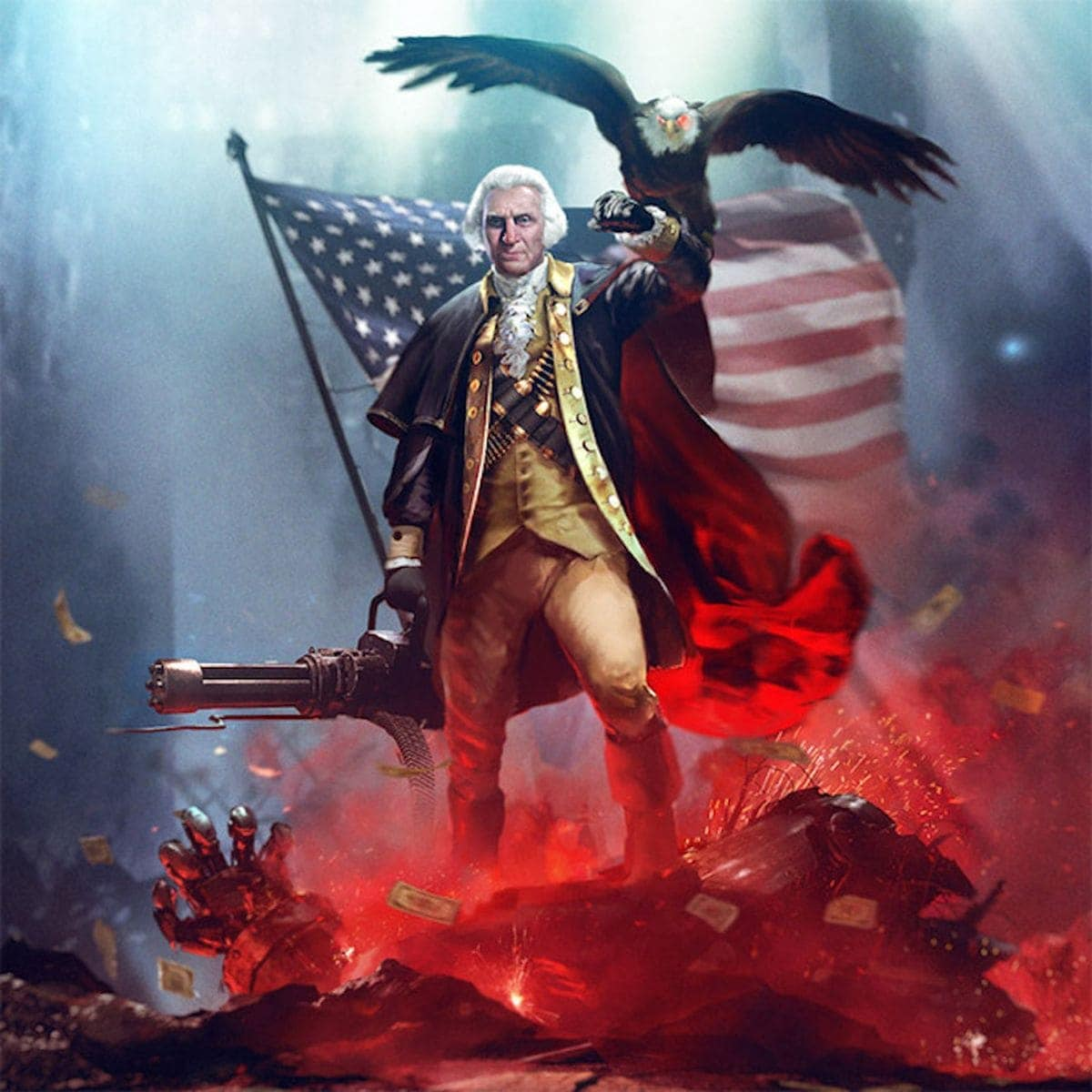 Badass Presidential Portraits von Jason Heuser | Design/Kunst | Was is hier eigentlich los?