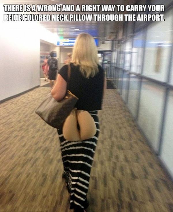 Beobachtungen am Flughafen | Lustiges | Was is hier eigentlich los? | wihel.de