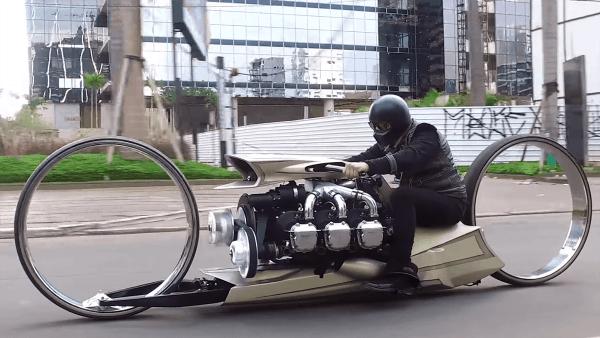 Dass TMC Dumont-Motorrad von Taras Marques | Gadgets | Was is hier eigentlich los?