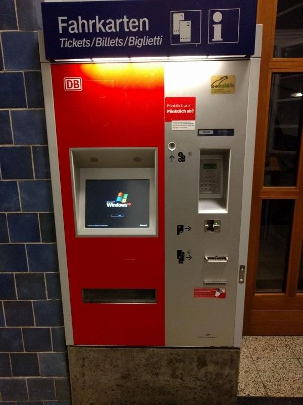 Endlich gefunden: Der wahre Grund, warum die Bahn unpünktlich ist - Windows XP   Lustiges   Was is hier eigentlich los?   wihel.de
