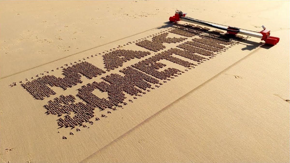 Ivan Miranda und sein in Sand schreibender Roboter | Gadgets | Was is hier eigentlich los?