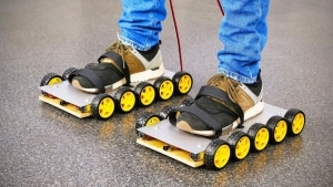 Roller Skates Marke Eigenbau | Gadgets | Was is hier eigentlich los?