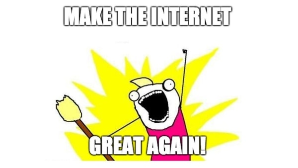 Und plötzlich macht das Internet keinen Spaß mehr - Gedankentüdelüt (102) | Kolumne | Was is hier eigentlich los? | wihel.de