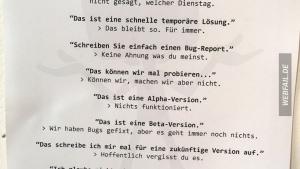 Was Programmierer (und auch andere) eigentlich sagen | Lustiges | Was is hier eigentlich los? | wihel.de