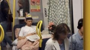 Wenn die Mieten zu hoch sind, schläft man eben in der U-Bahn | Lustiges | Was is hier eigentlich los?