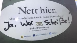 Baden-Württemberg scheint keine Reise wert zu sein | Lustiges | Was is hier eigentlich los?