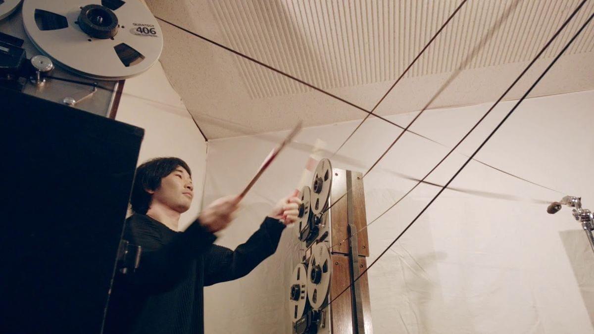 Das Scratch-Tonband-Schlagzeug vom Open Reel Ensemble | Musik | Was is hier eigentlich los?