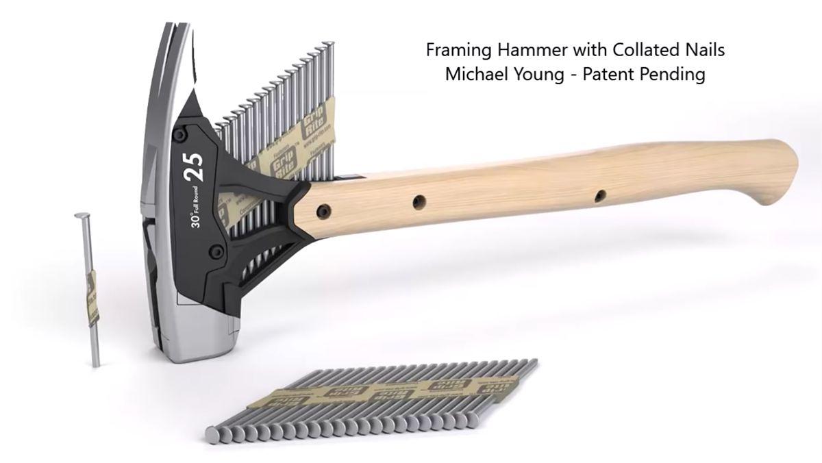 Der Hammer mit Nagel-Magazin von Michael Young | Gadgets | Was is hier eigentlich los?