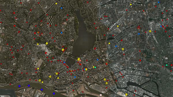 Der öffentliche (Nah)Verkehr in Hamburg visualisiert | Travel | Was is hier eigentlich los? | wihel.de