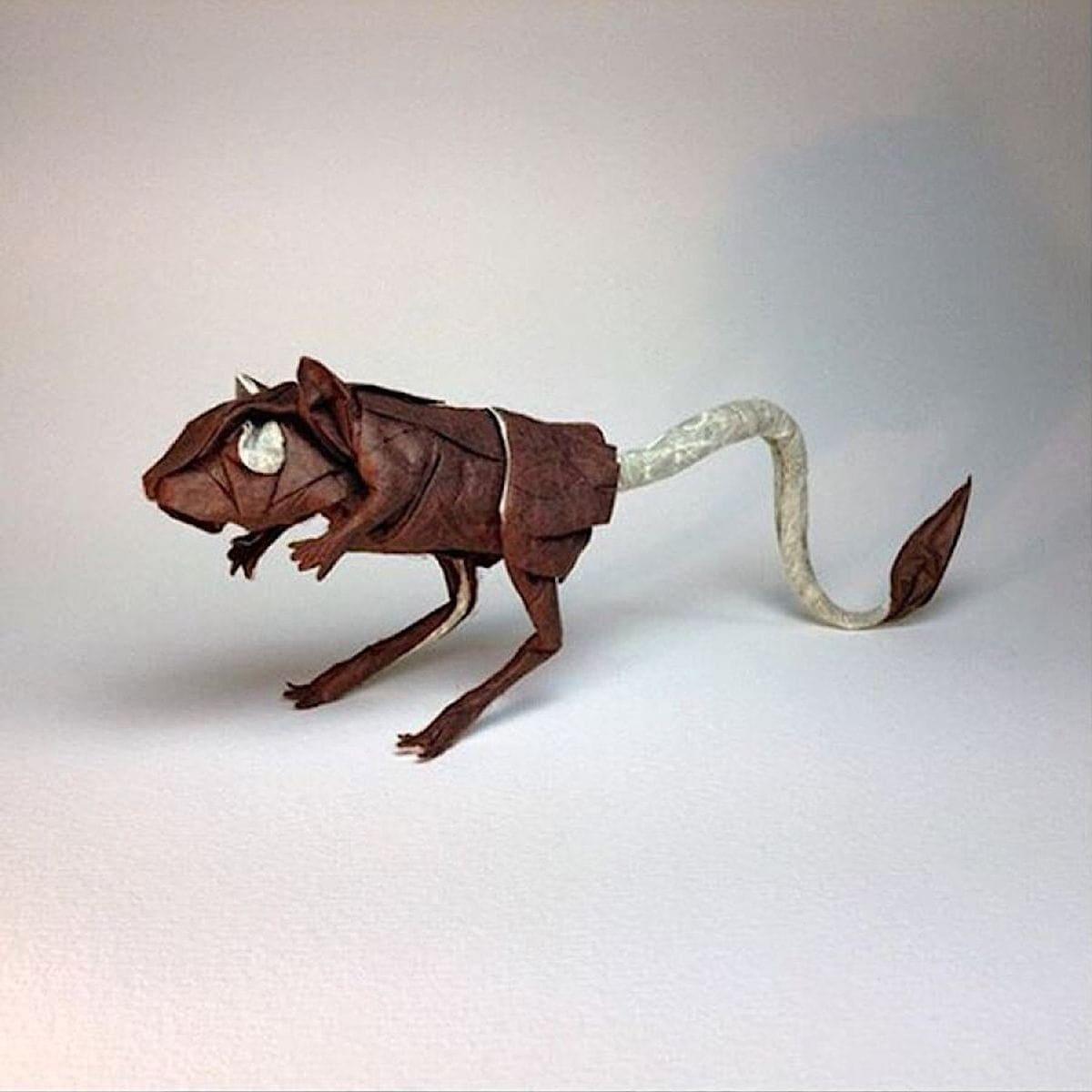 Die hohe Origami-Kunst von Robby Kraft | Design/Kunst | Was is hier eigentlich los?