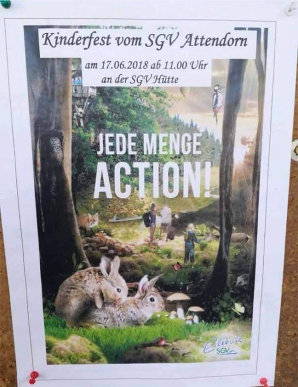 Die vielleicht nicht ganz jugendfreie Action beim Kinderfest Attendorn | Lustiges | Was is hier eigentlich los? | wihel.de