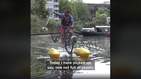 Ein Londoner, der in seiner Freizeit die Themse reinigt | Menschen | Was is hier eigentlich los? | wihel.de