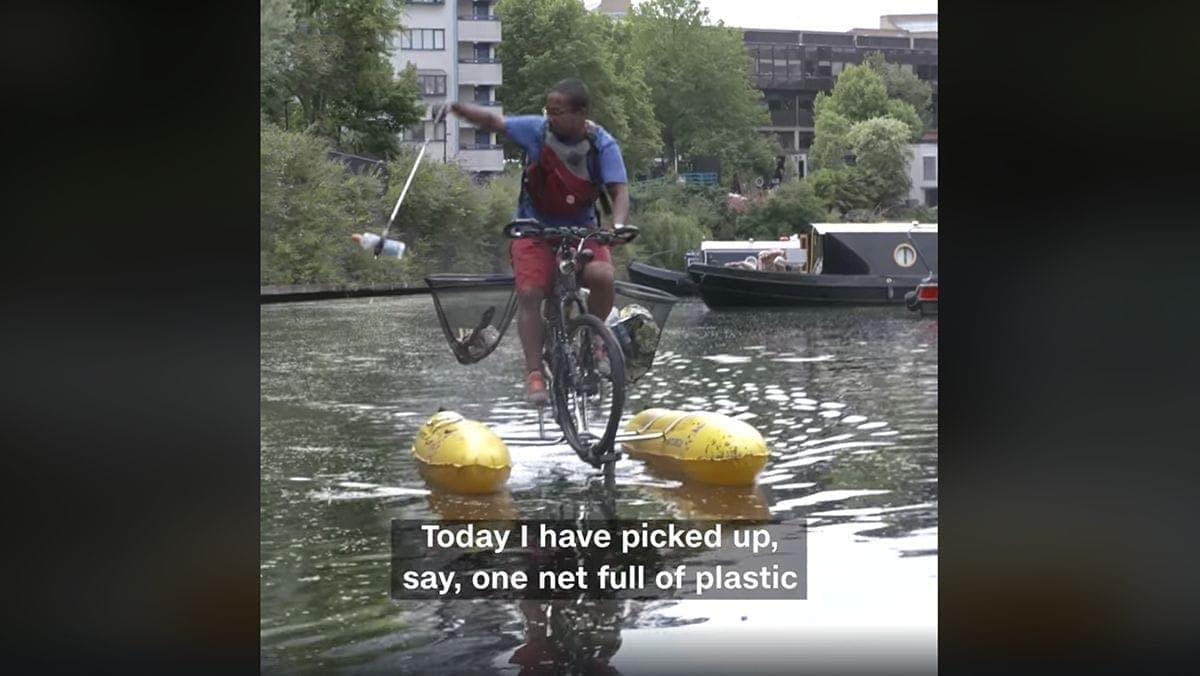 Ein Londoner, der in seiner Freizeit die Themse reinigt | Menschen | Was is hier eigentlich los?