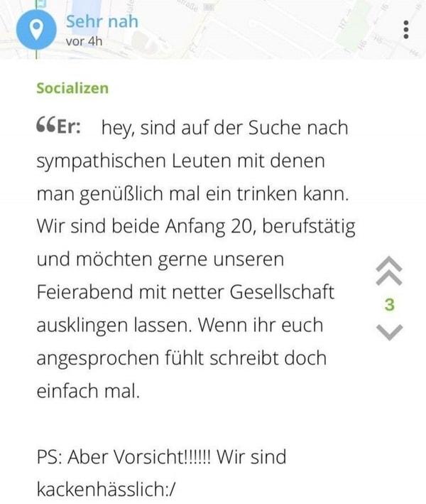 Falls jemand neue Freunde sucht | Lustiges | Was is hier eigentlich los? | wihel.de
