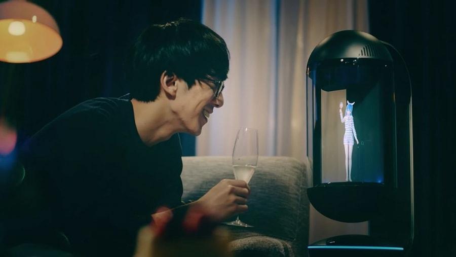 In Japan kann man sich eine holografische Frau kaufen | Gadgets | Was is hier eigentlich los?