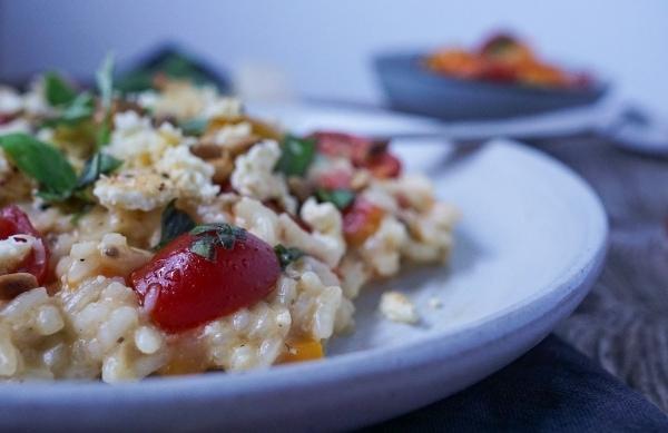 Line kocht Risotto mit Tomaten und gebackenem Ricotta | Line kocht | Was is hier eigentlich los? | wihel.de