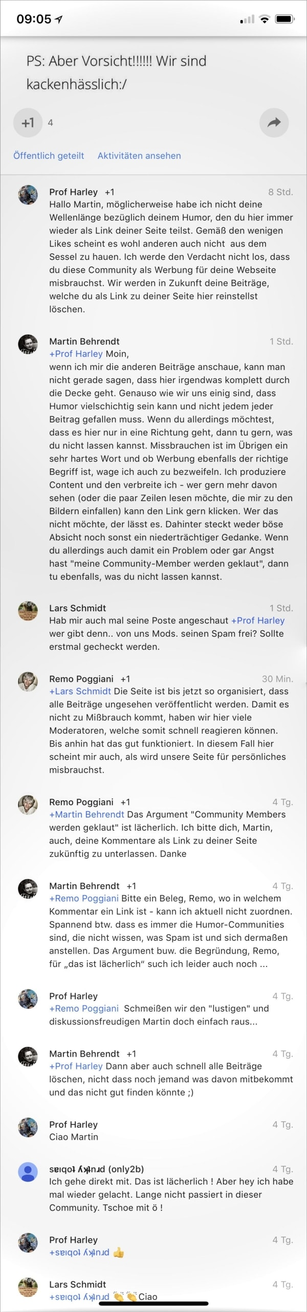 So geht Community. Nicht. - Gedankentüdelüt (107) | Kolumne | Was is hier eigentlich los? | wihel.de