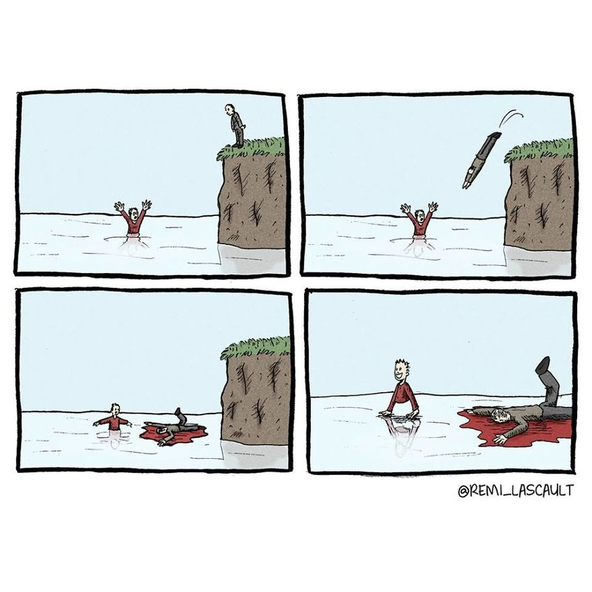 Starke Kurz-Comics von Remi Lascault | Lustiges | Was is hier eigentlich los?