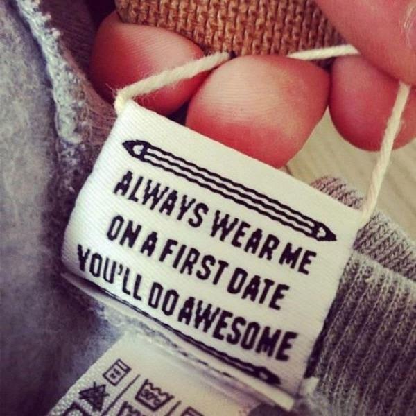 Unterhaltsame Etiketten in Klamotten | Lustiges | Was is hier eigentlich los?