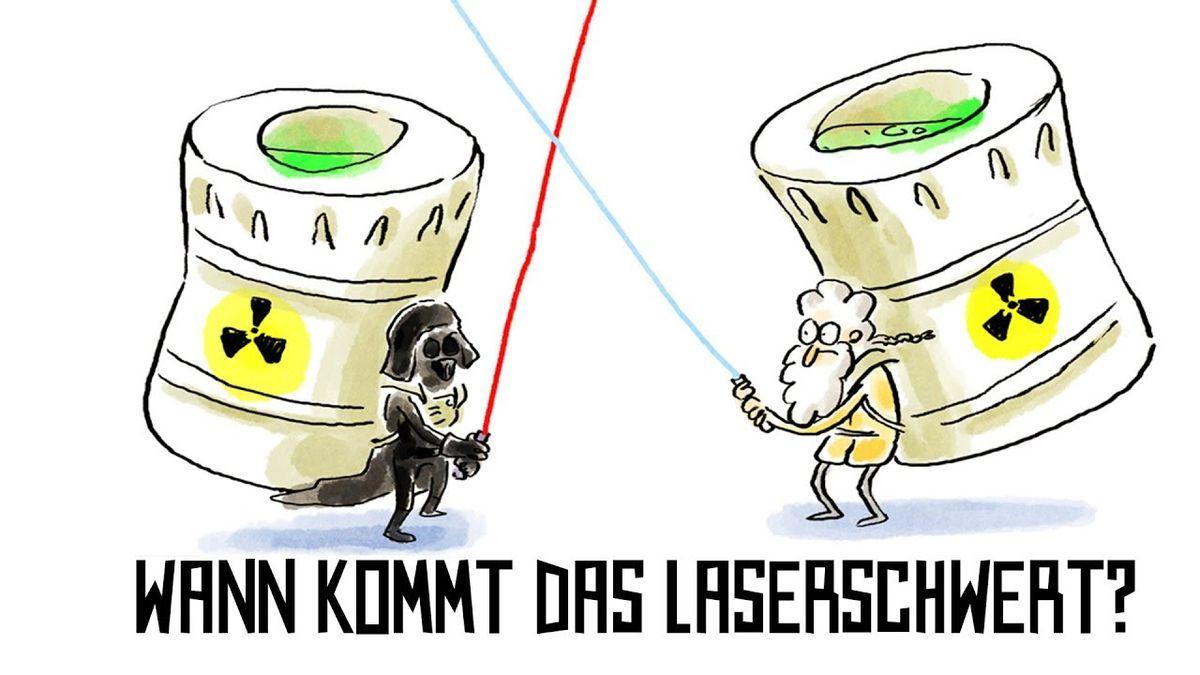 Wer nicht fragt, stirbt dumm: Wann kommt das Laserschwert? | Was gelernt | Was is hier eigentlich los?