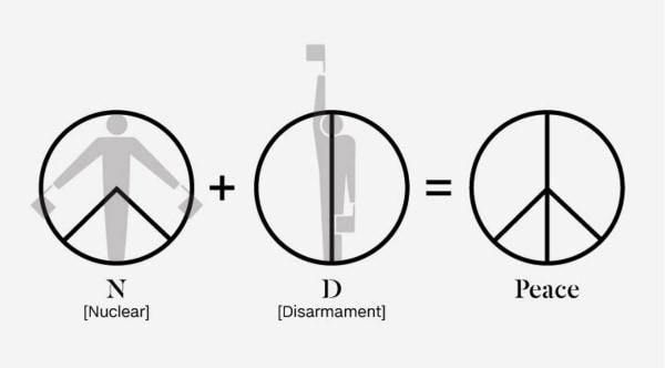 Wie das Peace-Symbol entstanden ist | Was gelernt | Was is hier eigentlich los? | wihel.de