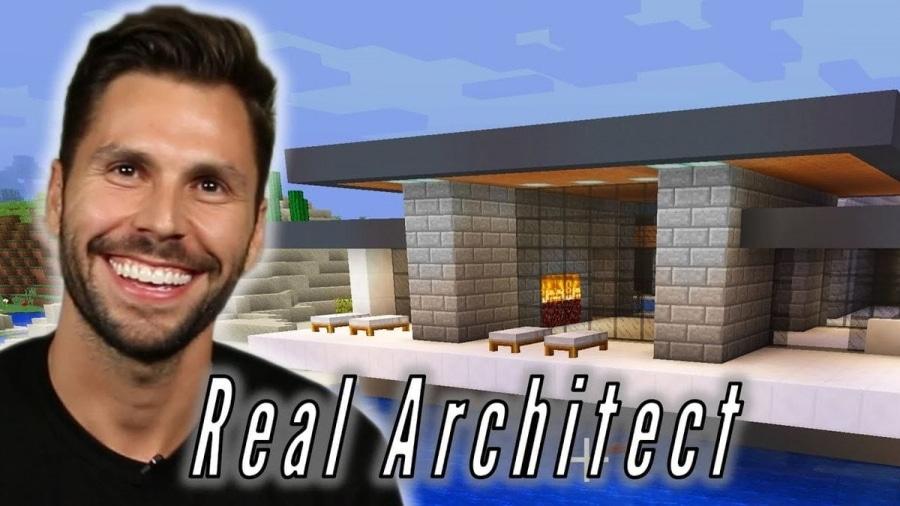 Andrew McClure baut in Minecraft ein Luxushaus | Games | Was is hier eigentlich los?