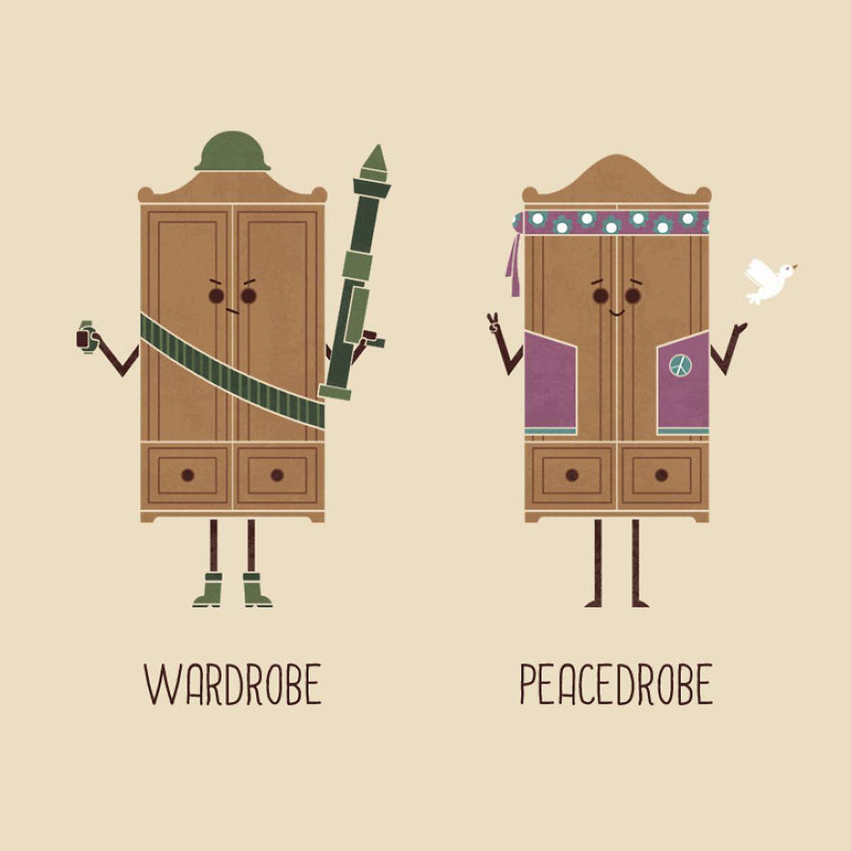 Billige, witzige Wortwitze illustriert von HandsOffMyDinosaur | Lustiges | Was is hier eigentlich los?
