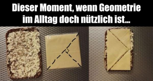 Endlich hat Geometrie einen Sinn | Lustiges | Was is hier eigentlich los? | wihel.de