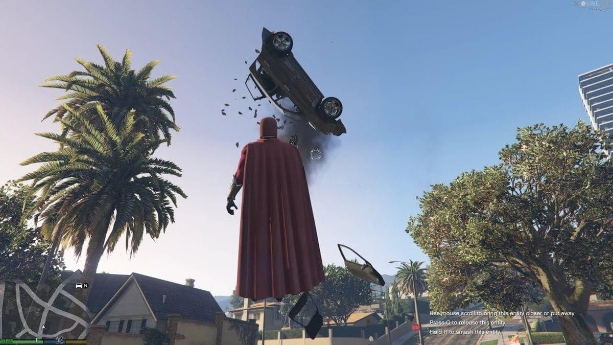 GTA V mit dem Magneto-Mod | Games | Was is hier eigentlich los?