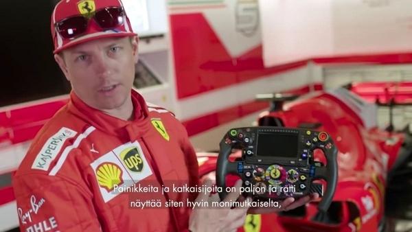 Kimi Räikkönen erklärt uns ein Formel 1-Lenkrad | Gadgets | Was is hier eigentlich los? | wihel.de