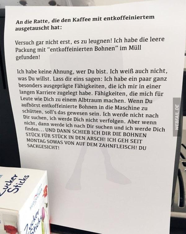 Mobbing im Büro der besonders fiesen Art | Lustiges | Was is hier eigentlich los? | wihel.de