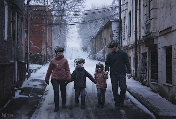 Russlands Zukunft illustriert von Evgeny Zubkov | Design/Kunst | Was is hier eigentlich los? | wihel.de