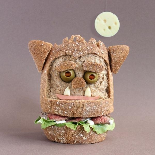 Sandwich Monster von Kasia Haupt | Essen und Trinken | Was is hier eigentlich los? | wihel.de