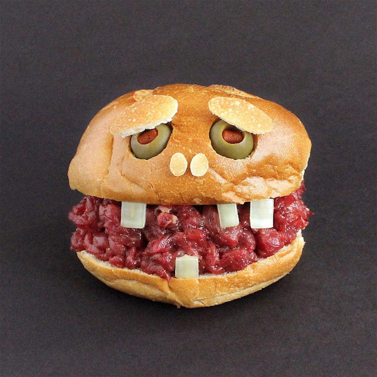 Sandwich Monster von Kasia Haupt | Essen und Trinken | Was is hier eigentlich los?