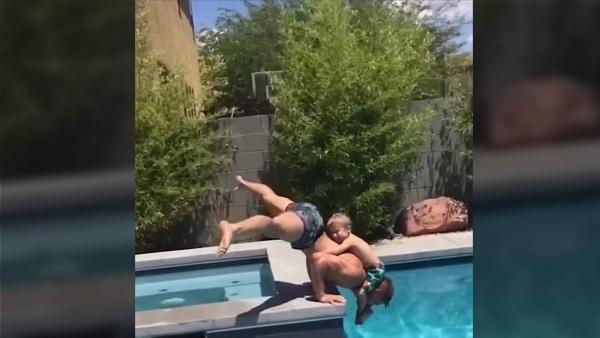 Swimming-Pool-Tricks, Flips und mehr | Awesome | Was is hier eigentlich los?