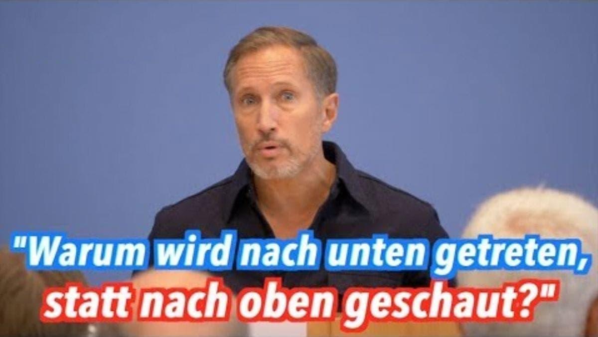 Benno Fürmann zu #Unteilbar und die wirklichen Probleme der Gesellschaft | Menschen | Was is hier eigentlich los?