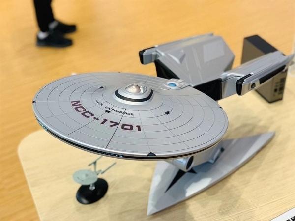 Ein Computer in Form von Raumschiff Enterprise | Gadgets | Was is hier eigentlich los? | wihel.de