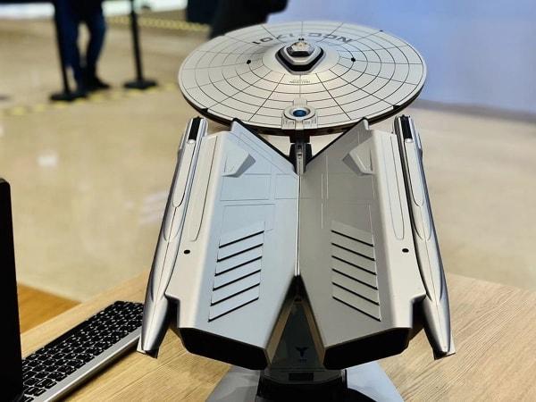 Ein Computer in Form von Raumschiff Enterprise | Gadgets | Was is hier eigentlich los?