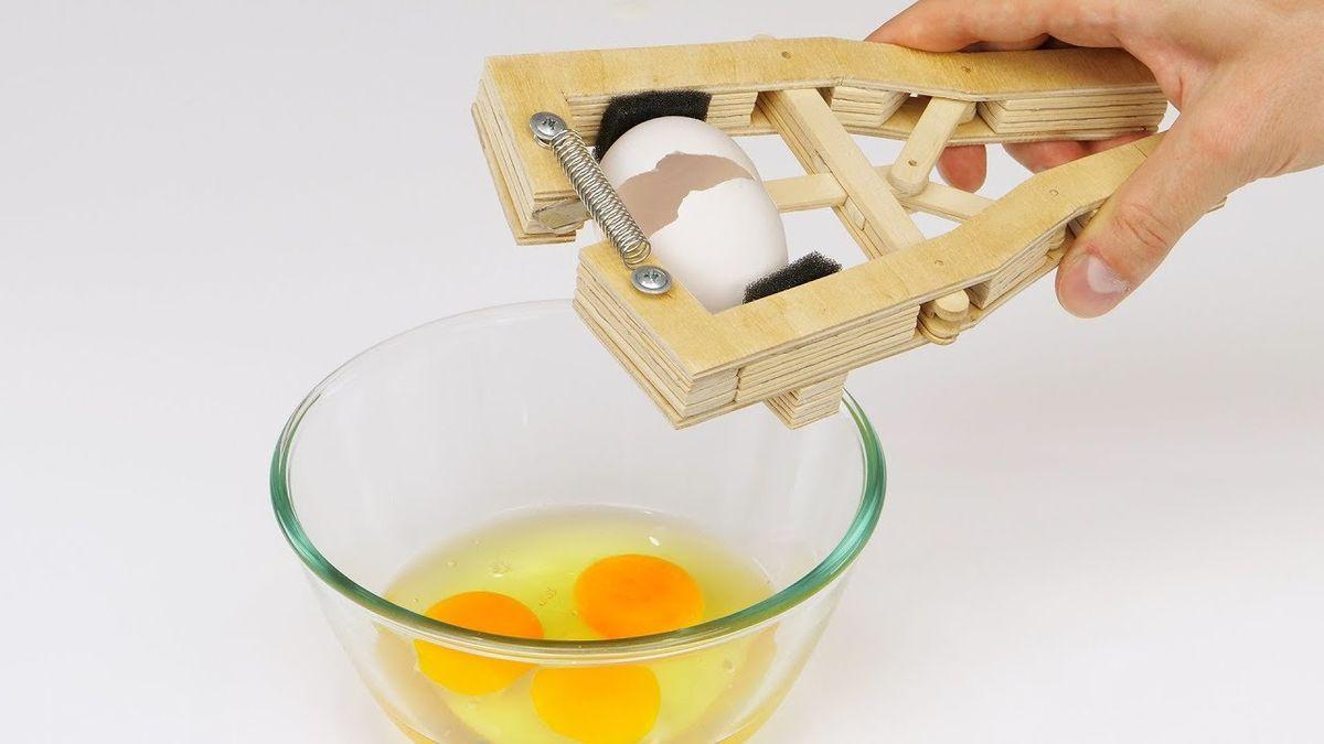 Ein Eieröffner der Marke Eigenbau | Gadgets | Was is hier eigentlich los?