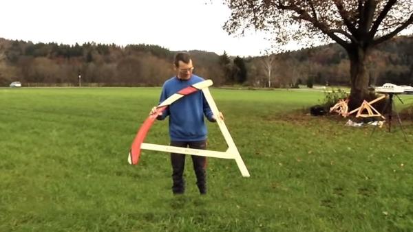 Gerhard Walter und seine Bumerangs | Gadgets | Was is hier eigentlich los? | wihel.de
