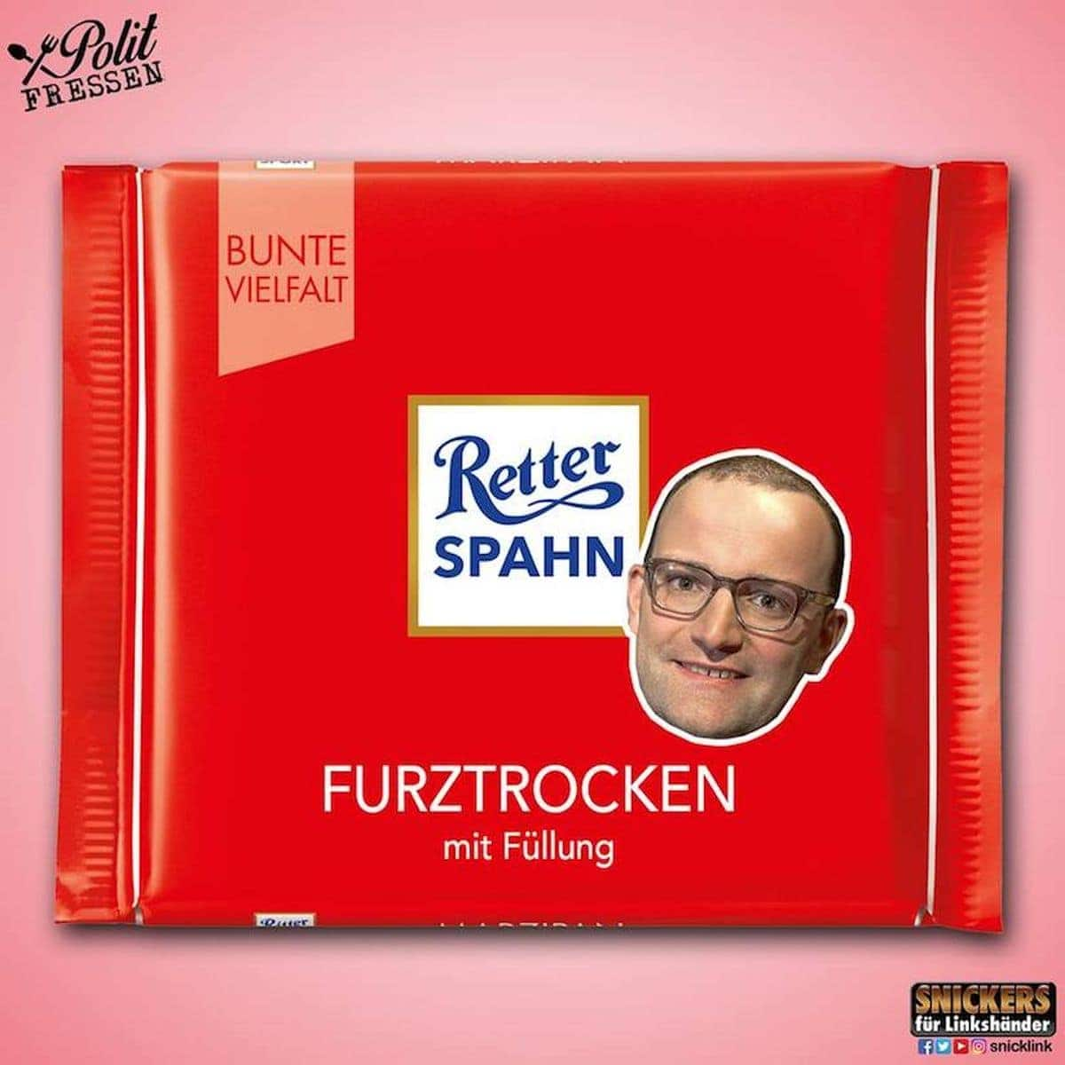 Polit-Fressen - Snacks in der Politiker-Version von Snickers für Linkshänder | Lustiges | Was is hier eigentlich los?