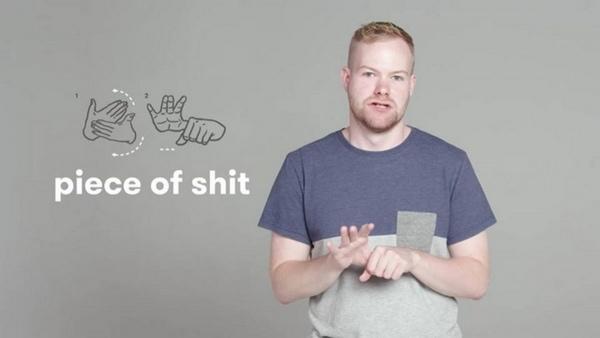 Schimpfwörter in Gebärdensprache | Was gelernt | Was is hier eigentlich los? | wihel.de