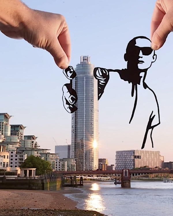 Tolle Paper-Cut-Outs von Rich McCor | Design/Kunst | Was is hier eigentlich los? | wihel.de