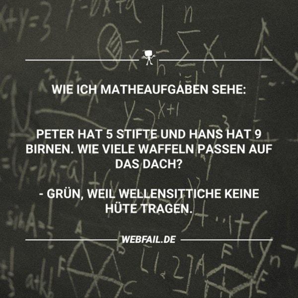 Warum ich Mathe nie verstanden hab | Lustiges | Was is hier eigentlich los?