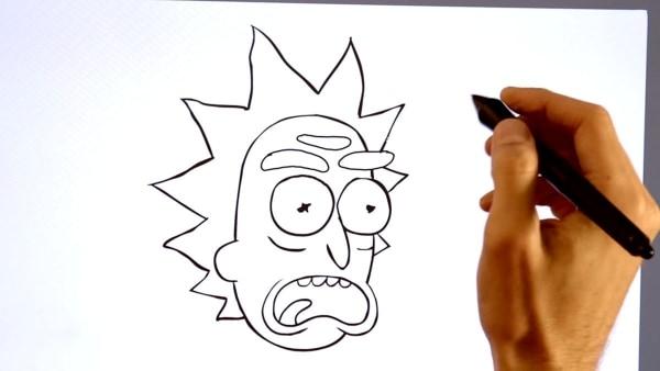 Wie man Rick und Morty zeichnet   Kino/TV   Was is hier eigentlich los?   wihel.de