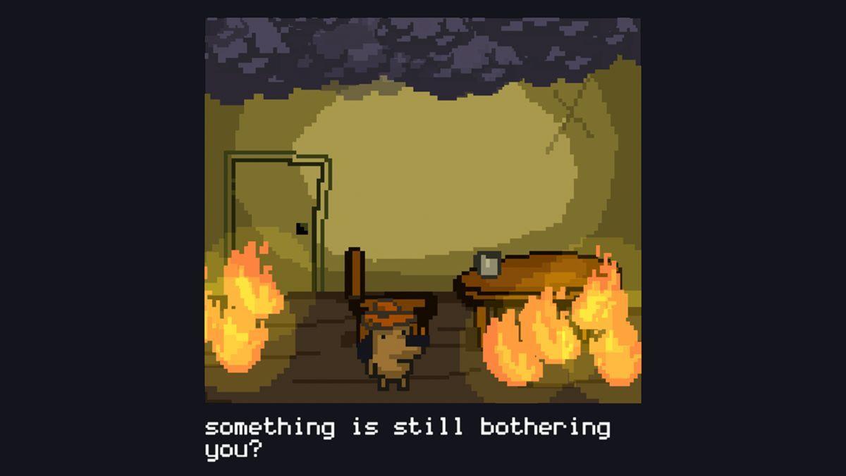 Das This is fine-Meme als Minispiel | Games | Was is hier eigentlich los?