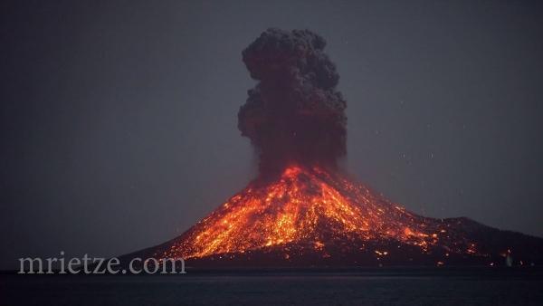 Ein Vulkanausbruch in Echtzeit | Awesome | Was is hier eigentlich los? | wihel.de