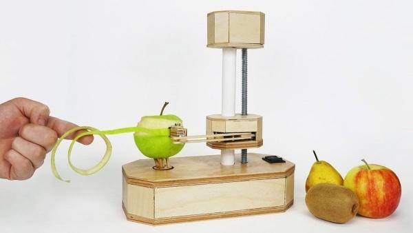 Eine Obst- und Gemüseschäler selbst gebaut   Gadgets   Was is hier eigentlich los?